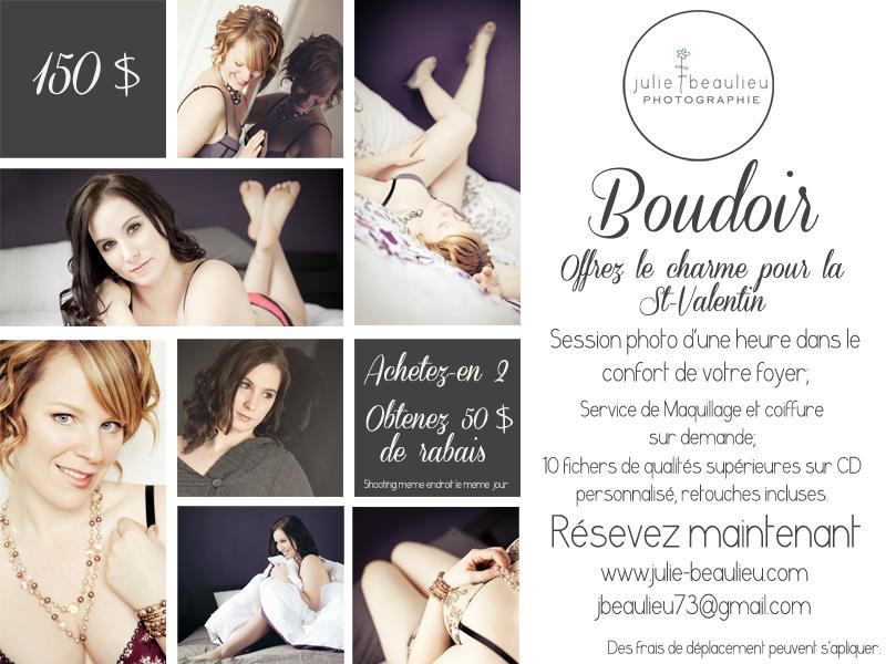 Boudoir promo 2013 Québec